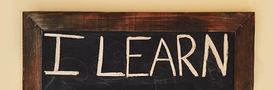 One Little Word 2017- Learn