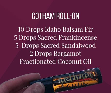 Gotham roll-on essential oil recipe