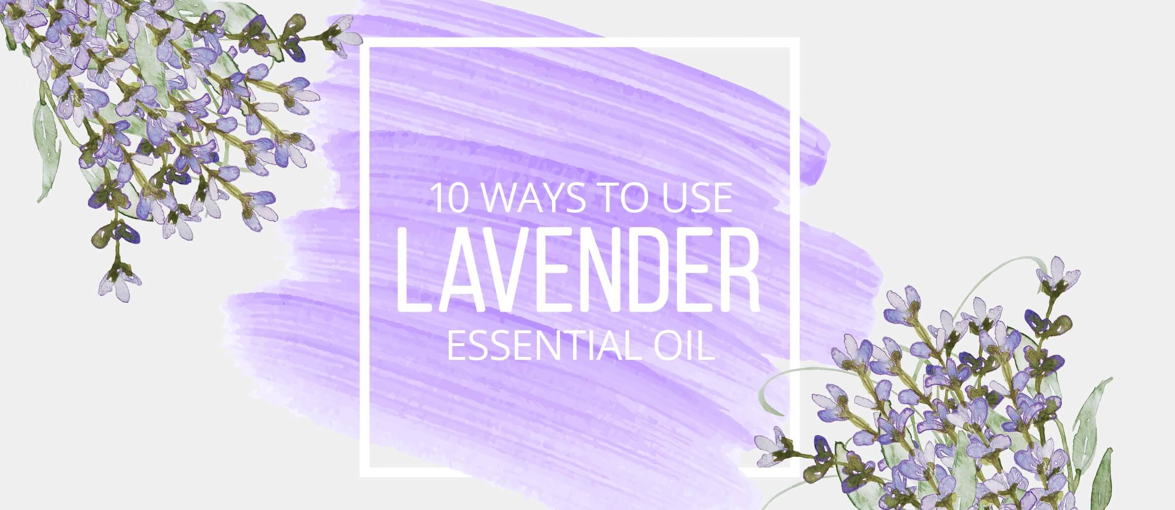 Top Ten Uses for Lavender Essential Oil You May Not Think Of