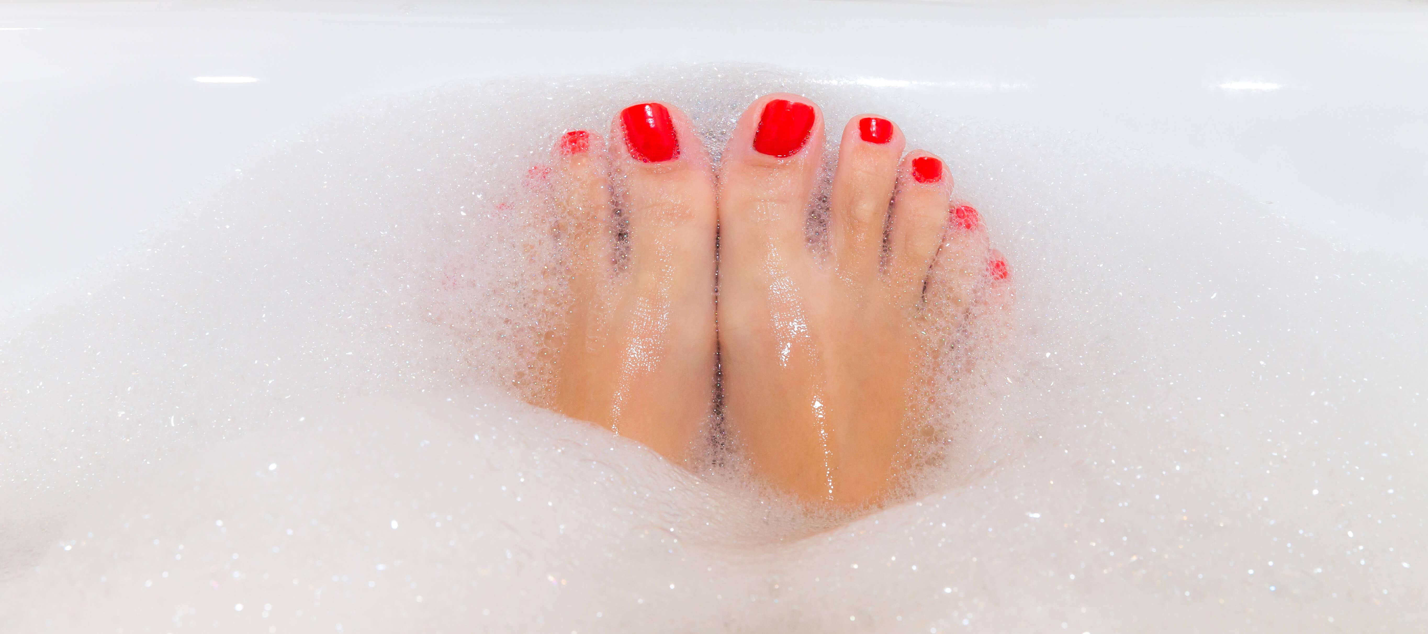 Winter Bubble Bath