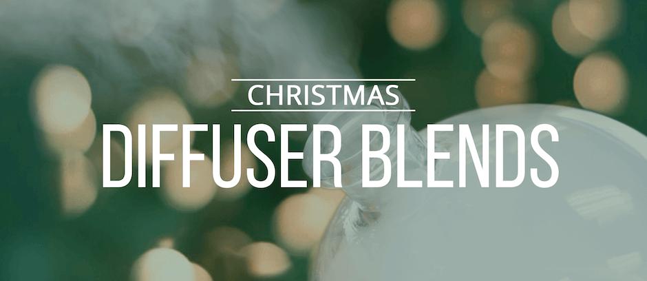 3 Christmas Diffuser Blends - Lindsey Elmore