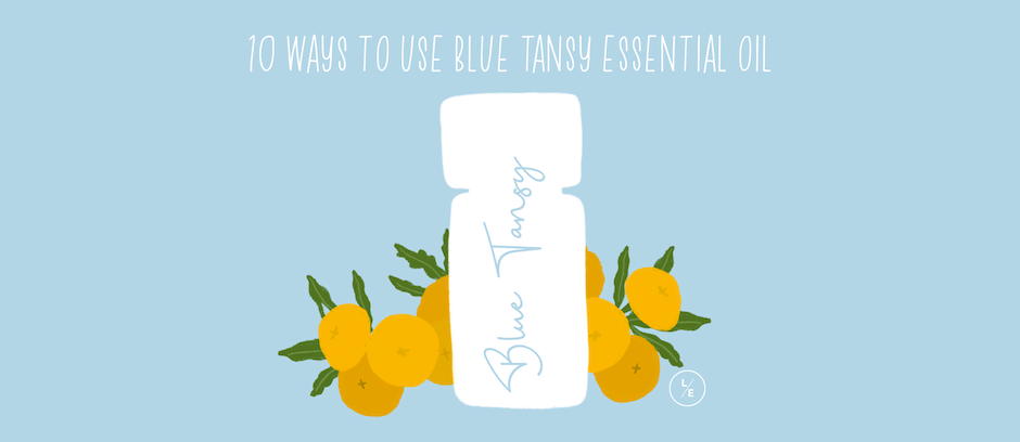10 Ways to Use Blue Tansy Essential Oil - Lindsey Elmore