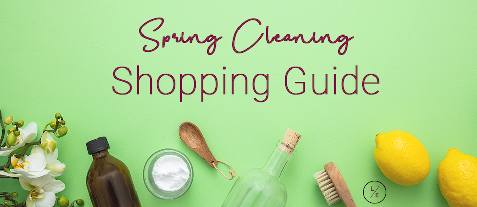 Spring Cleaning Shopping Guide