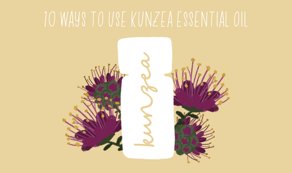 10 Ways to Use Kunzea Essential Oil