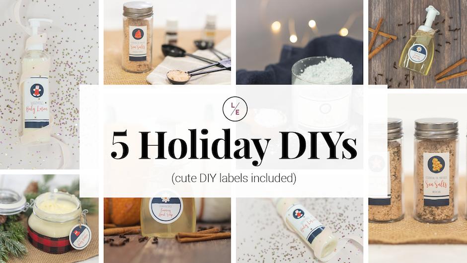 5 Holiday DIYs